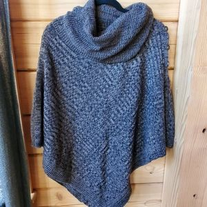 Allie & Rob Poncho Sweater